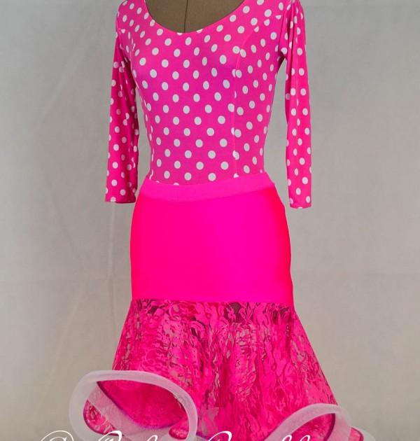 Pink-gepunktet-Spitze-Latein2-4